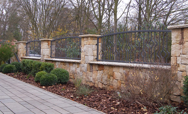 Stone walls and stone constructions Prague